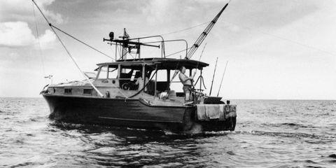 Hemingway boat Cuba