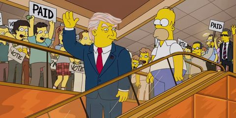 The Simpsons Banged Out a Brilliant Donald Trump Parody