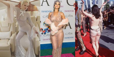 The Evolution of the Naked Dress in 27 Photos