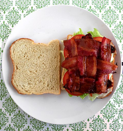 """<p>If you are not weaving a bacon lattice for your BLT, we're sorry, but you are doing it all wrong. How else do you keep all that crispy, meaty deliciousness from falling out? Plus, you get bacon in every single bite, and that is <em>key</em>. </p><p><a target=""""_blank"""" href=""""http://www.savorynotes.com/recipe/bl-tastic""""><em>Get the recipe from Savory Notes »</em></a></p>"""