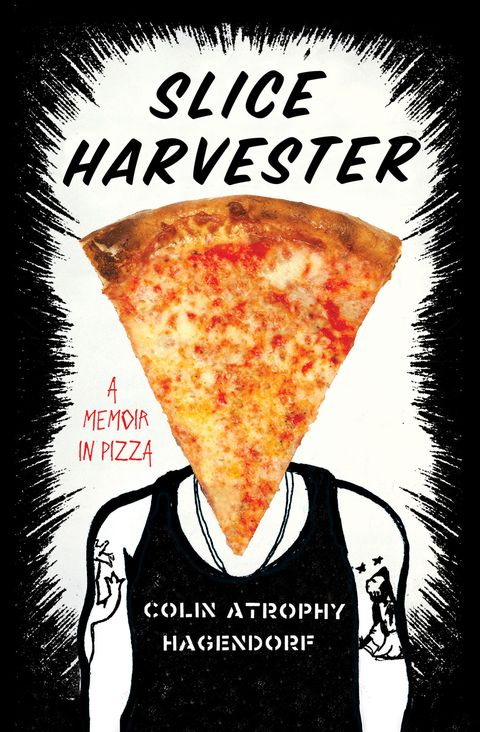 "<p><a href=""http://books.simonandschuster.com/Slice-Harvester/Colin-Atrophy-Hagendorf/9781476705880"" target=""_blank""><em><strong></strong>Slice Harvester: A Memoir in Pizza</em></a>, by Colin Atrophy Hagendorf (Simon & Schuster)</p><p><strong>The pitch: </strong>A problem drinker turns his life around by chronicling every regular slice of pizza in Manhattan. </p><p><strong>Why we're reading: </strong>Hagendorf's musings on punk rock and pizza are compulsively readable <a href=""http://www.sliceharvester.com/"" target=""_blank"">online</a> and in print. </p>"