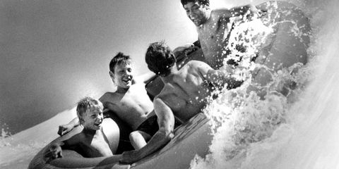 summer tubing