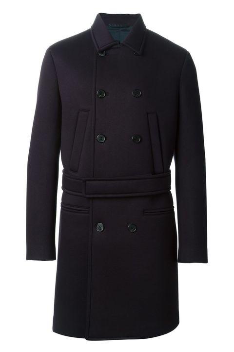 """<p><em>Double breasted overcoat ($674.36 down from $1,348.72) by Neil Barrett, </em><a href=""""http://www.farfetch.com/shopping/men/neil-barrett-double-breasted-overcoat-item-10819191.aspx?storeid=9334&ffref=lp_51_3_"""" target=""""_blank""""><em>farfetch.com</em></a> </p>"""