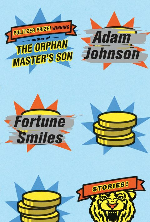 "<p><a href=""http://www.penguinrandomhouse.com/books/246829/fortune-smiles-by-adam-johnson/"" target=""_blank""><em>Fortune Smiles</em></a>, by Adam Johnson (Random House) </p><p><strong>The pitch:</strong> The author of <em>The Orphan Master's Son</em>, winner of the Pulitzer Prize in fiction, returns with six nervy stories, including <em>Nirvana</em>, <a href=""http://www.esquire.com/entertainment/books/a23504/nirvana-adam-johnson/"" target=""_blank"">which Esquire first published</a>. </p><p><strong>Why we're reading:</strong> Johnson packs more voice in his stories than most authors do in a novel. </p>"