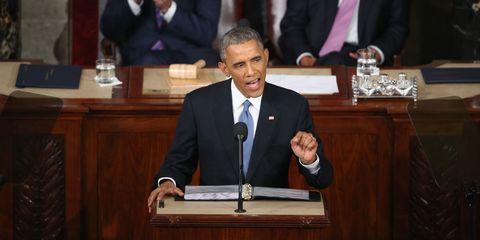 Microphone, Dress shirt, Audio equipment, Outerwear, Public speaking, Coat, Suit, Formal wear, Government, Tie,