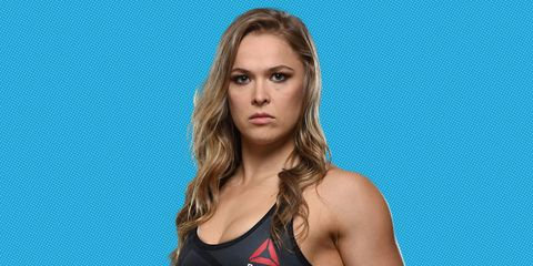Ronda Rousey Tells Us How to Kick Ass (and Take a Punch)