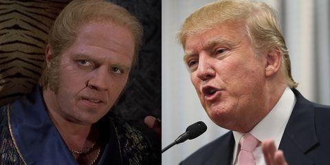 biff tannen and donald trump