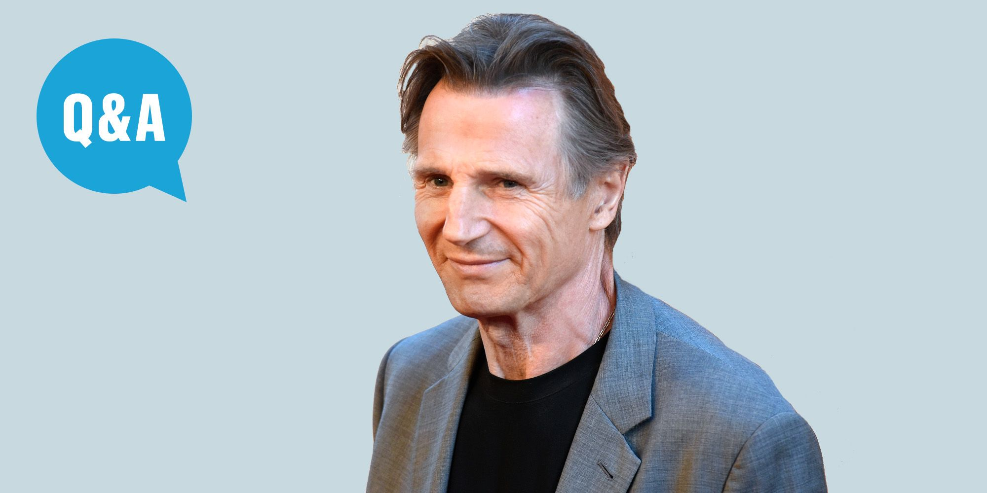 Liam Neeson on Star Wars Phantom Menace Dialogue, Speeches