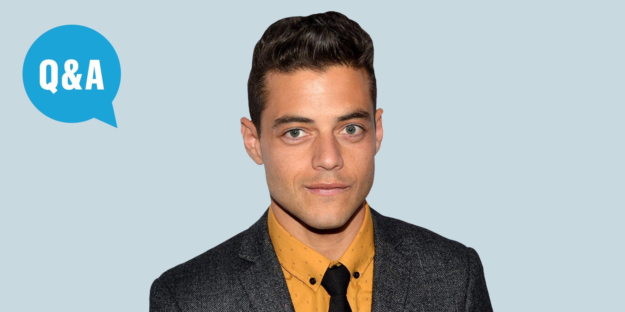 Rami Malek Interview Rami Malek On Mr Robot Plot Twists