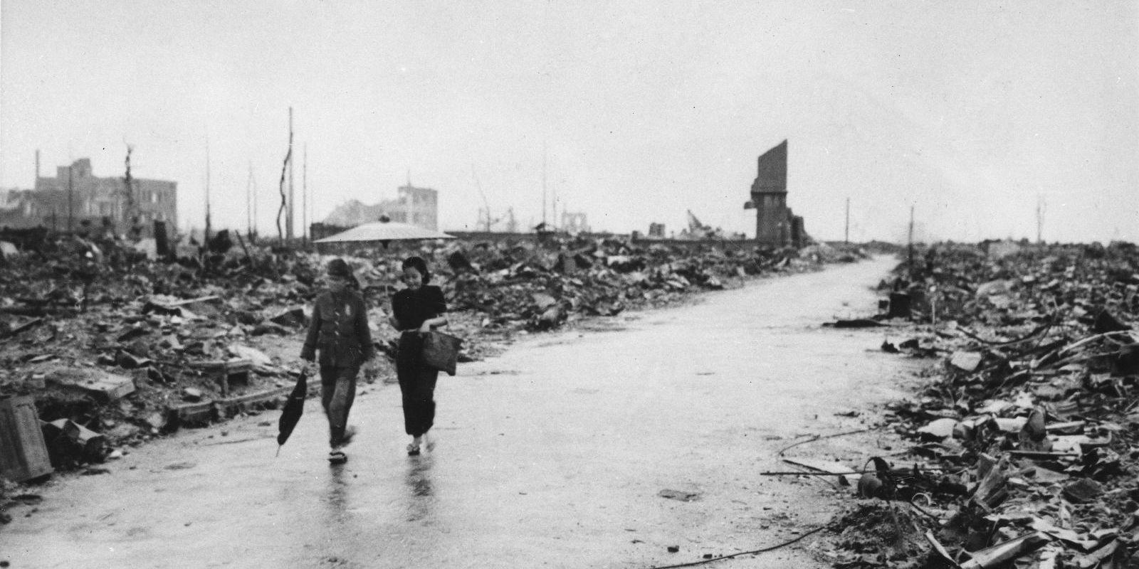 Photos: Hiroshima, 70 years Ago and Today