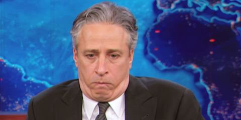 Jon Stewart Is Honored with Bizarre and Hilarious Goodbye Video from Arby's