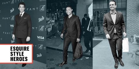 Footwear, Coat, Trousers, Dress shirt, Shirt, Standing, Suit trousers, Suit, Outerwear, Formal wear,