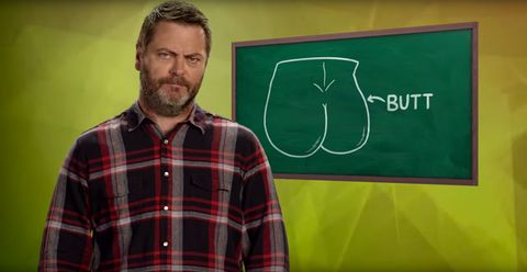 John Oliver Gets Nick Offerman, Kristen Schaal, and Laverne Cox Teach You About Sex Ed