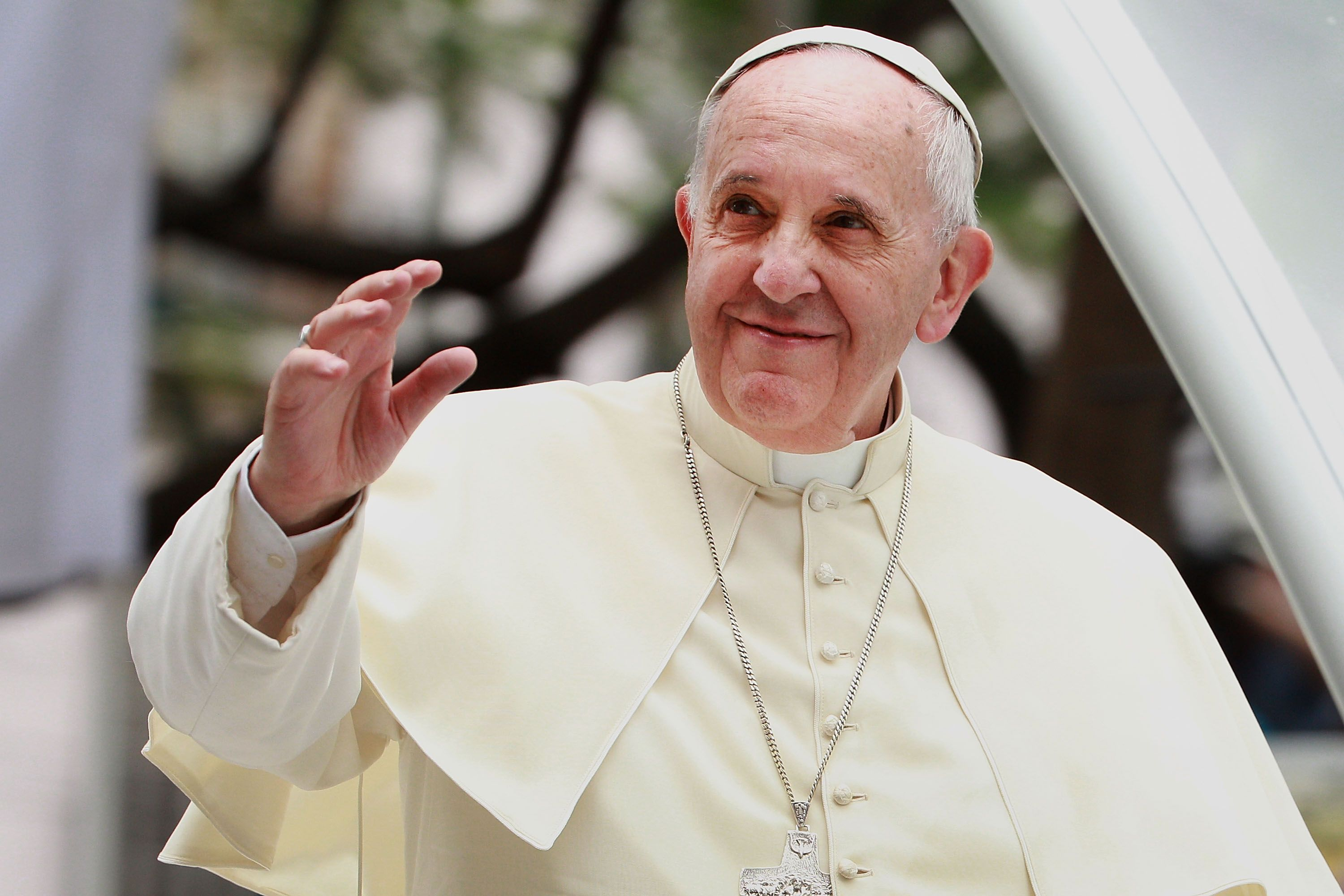 Pope Francis Joins the War on Christmas