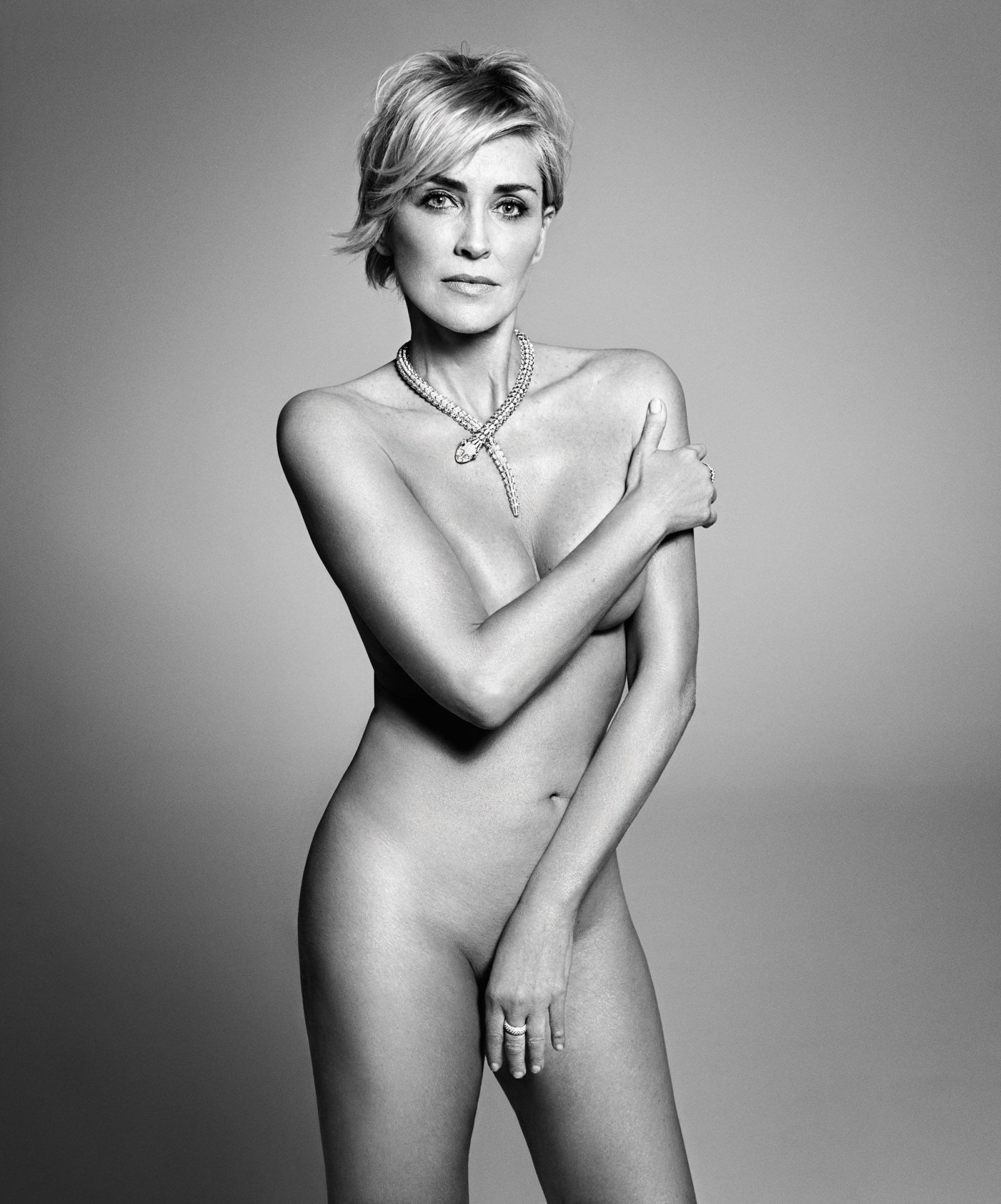 Everyone Agrees: Sharon Stone's Nude Photo Shoot Is Stunning