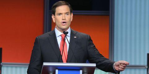 Marco Rubio Republican Debate