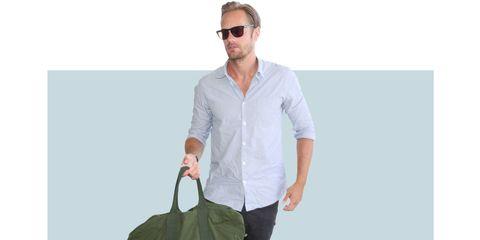 Eyewear, Vision care, Dress shirt, Product, Collar, Sleeve, Shoulder, Shirt, Elbow, Joint,