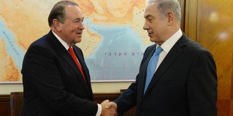 Mike Huckabee & Benjamin Netanyahu