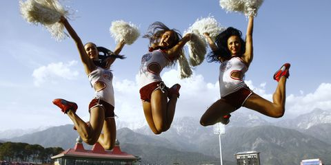 Cheerleaders: The Latest Chinese Tech Company Morale Booster