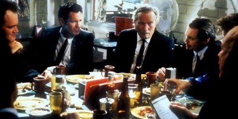 Drink, Tableware, Drinkware, Table, Dish, Dishware, Sharing, Suit, Tie, Serveware,