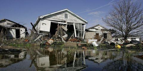 Hurricane Katrina house