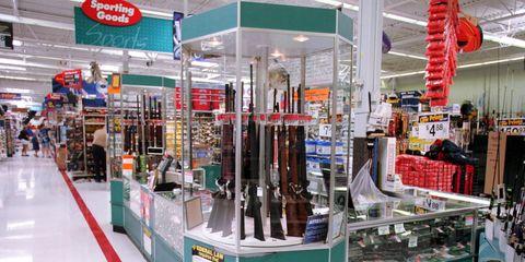 Walmart gun sales