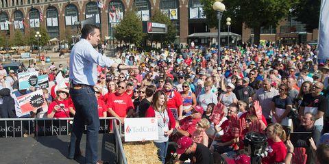Ted Cruz Crowd