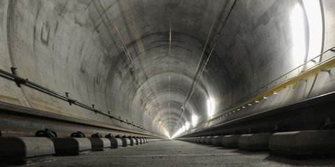 Switzerland Just Finished Building the Longest Tunnel in the World