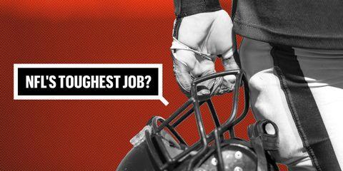 NFL Toughest Jobs lede art