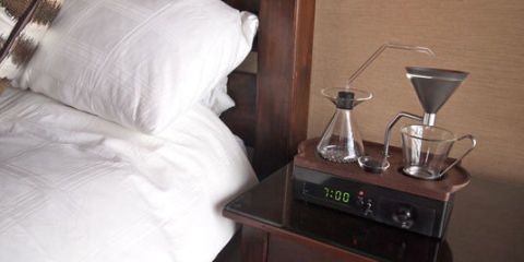 Say Hello to the Coffee-Brewing Alarm Clock