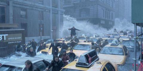 Motor vehicle, Mode of transport, Vehicle, Land vehicle, Window, Car, Automotive exterior, Atmospheric phenomenon, Automotive parking light, Smoke,