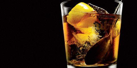 Fluid, Liquid, Glass, Drink, Alcoholic beverage, Distilled beverage, Alcohol, Cocktail, Tableware, Highball glass,