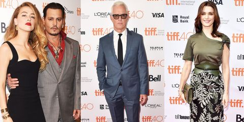 18 Stars Who Looked Great on the Toronto Film Festival Red Carpet