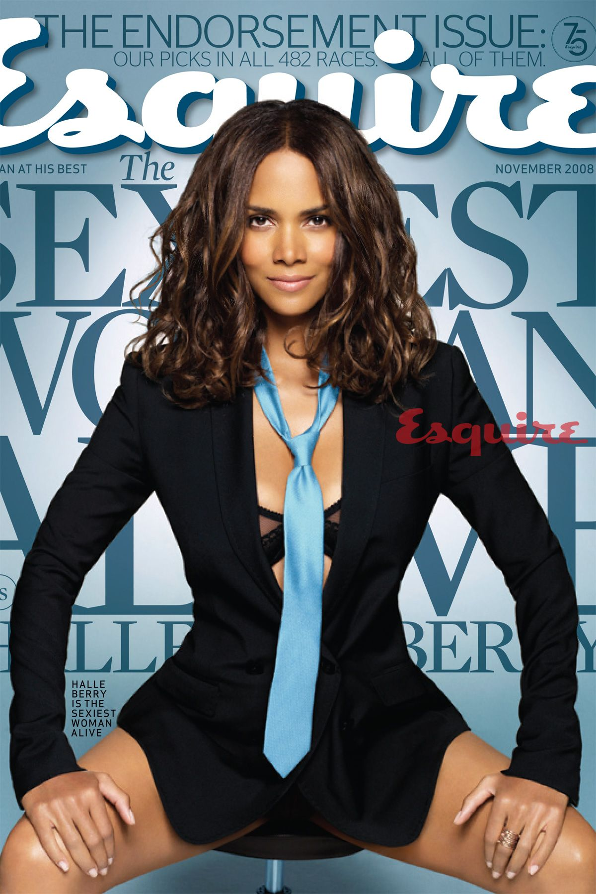 Berühmt Halle Berry: The Sexiest Woman Alive 2008 &ZI_95