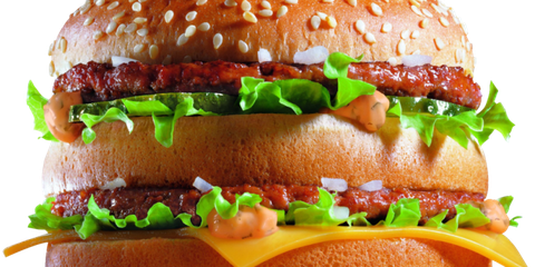 Here's What a Big Mac Does to Your Body in 1 Hour