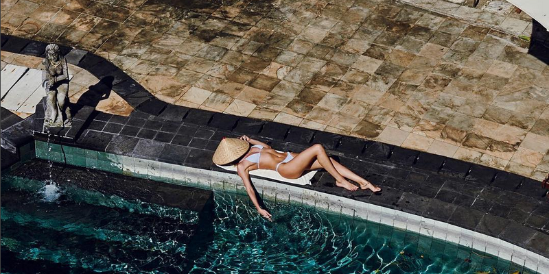 Summer Never Ends for Hot Celebrities