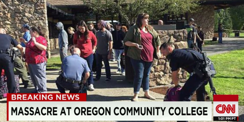After Oregon, Death By Gunfire Is a Natural Law in America