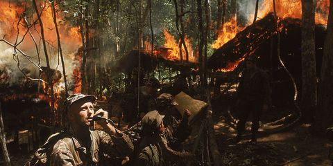 Fire, Heat, Pollution, Flame, Forest, Soldier, Wildfire, Smoke, Woodland, Military person,