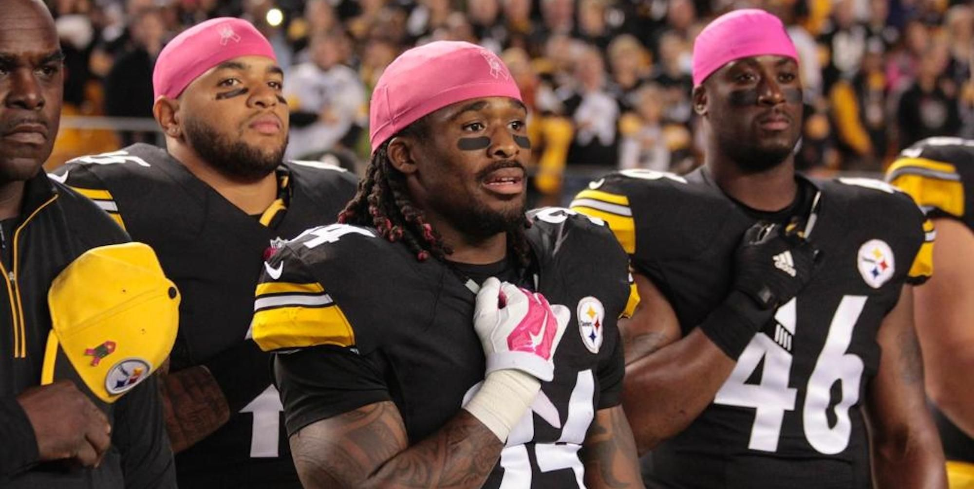 c16b9d947 NFL Prevents Player from Wearing Pink - DeAngelo Williams Story