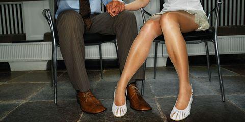 Footwear, Leg, Brown, Human leg, Joint, Tan, Thigh, Fashion, Toe, Foot,