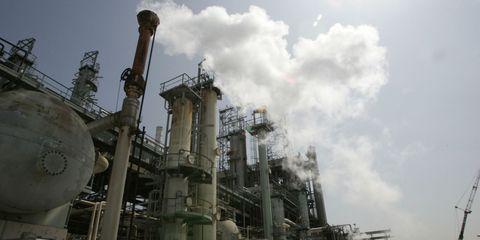 Industry, Factory, Gas, Pollution, Pipe, Iron, Power station, Cumulus, Machine, Chimney,