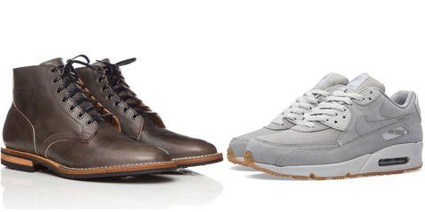 Footwear, Product, Brown, Shoe, White, Tan, Fashion, Carmine, Black, Grey,