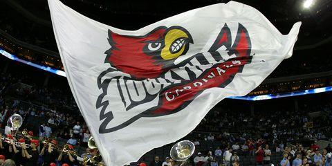 Louisville Cardinals flag