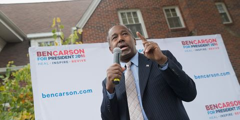 Ben Carson Talks Rape, Incest, Slavery, and the Constitution on Meet the Press