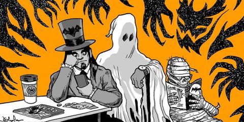 life at a haunted house