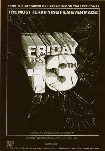 """<p>Not wanting to sit on such a great title, Cunningham got right to work… on an eye-catching ad campaign for the film (which had no script, no cast, and no real firm concept). """"[Associate producer] Steve Miner and I put together an ad for <i>Friday the 13th</i> and it was great big block letters, smashing through a mirror or glass, that said, '<i>Friday the 13th</i>—the most terrifying film ever made.' And we took out a full-page ad."""" </p><p>Part of Cunningham's goal in investing in such a bold strategy was to find out whether anyone already owned the rights to his beloved title. """"I figured we'd run the ad and see if we got any lawyers' letters, or what the response would be. To my surprise, I didn't get any lawyers' letters, but I got a whole bunch of distribution queries, particularly foreign... So we started running around, trying to raise the money for something called <i>Friday the 13th</i>.""""</p>"""