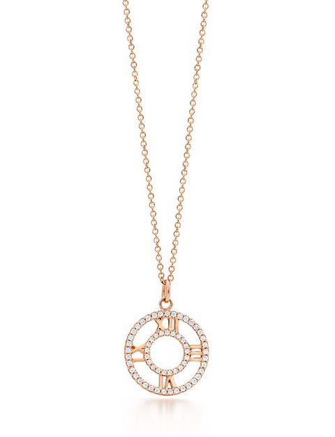 "<p>The 18K rose gold is luxurious on its own. The brilliant round diamonds adorning the inner and outer circles take it to another level. </p><p><em>Atlas® Open Pendant ($2,350) by Tiffany & Co., </em><a href=""http://www.tiffany.com/jewelry/necklaces-pendants/atlas-open-pendant-GRP08566?fromGrid=1&search_params=p+1-n+10000-c+-1-s+11-r+-t+atlas%20pendant-ni+1-x+-lr+-hr+-ri+-mi+-pp+0+3&search=1&origin=search&searchkeyword=atlas%20pendant&trackpdp=search&fromcid=-1"" target=""_blank""><em>tiffany.com</em></a></p><p><a href=""http://www.tiffany.com/jewelry/necklaces-pendants/atlas-open-pendant-GRP08566?fromGrid=1&search_params=p+1-n+10000-c+-1-s+11-r+-t+atlas%20pendant-ni+1-x+-lr+-hr+-ri+-mi+-pp+0+3&search=1&origin=search&searchkeyword=atlas%20pendant&trackpdp=search&fromcid=-1#p+1-n+10000-c+-s+11-r+-t+atlas%20pendant-ni+1-x+-pu+-f+false+0-lr+-hr+-ri+-mi+-pp+0%2B3"" target=""_blank""><em></em></a></p>"