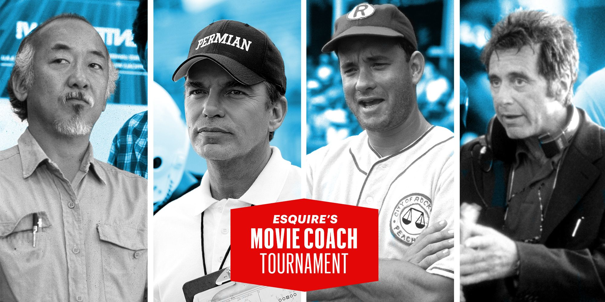 2baf5411600 Esquire s Movie Coaches Tournament  Vote for the Most Inspirational Movie  Coach in Hollywood History