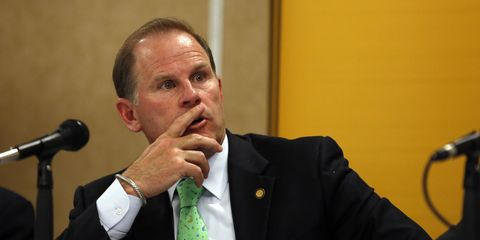 Former University of Missouri President Tim Wolfe