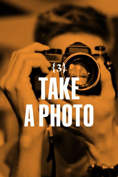 <p>Take a photo.  Fill the frame.</p>